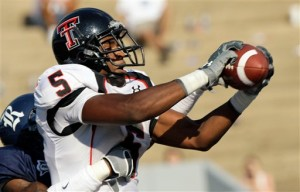 Texas Tech Crabtree Football